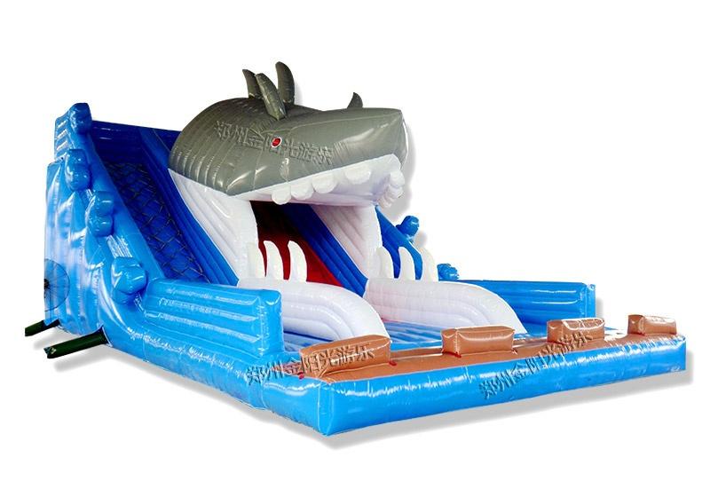 鲨鱼水池滑梯怎么卖