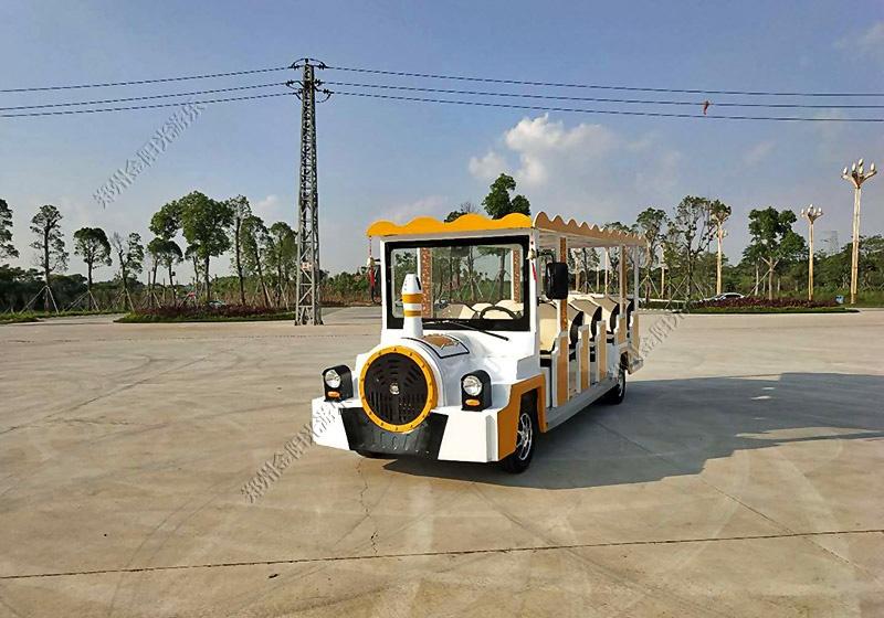 14座内燃观光车