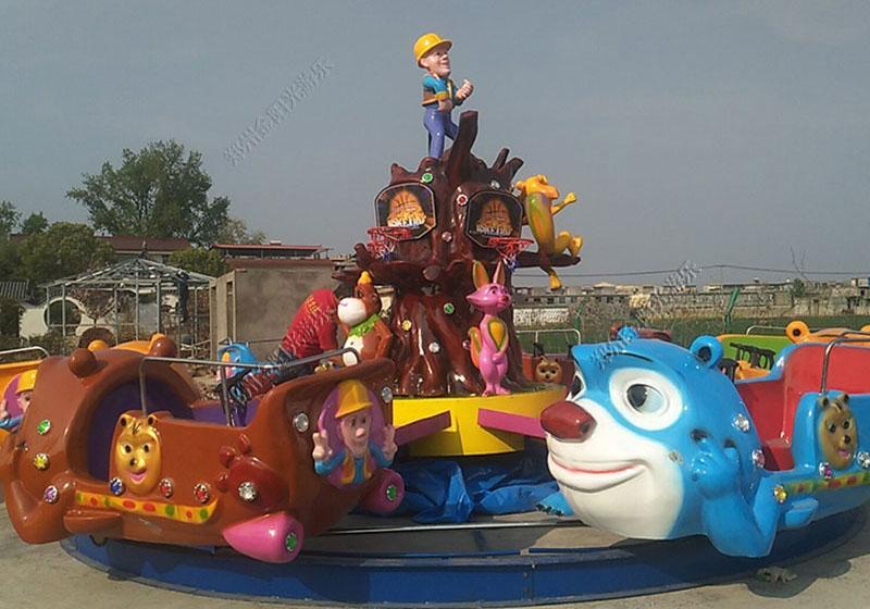 卧龙岗采购机械游乐设备给小镇儿童带去欢乐
